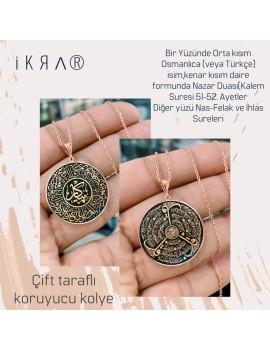 protective locket necklace