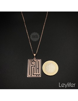 Name necklace with Kufi Hatt