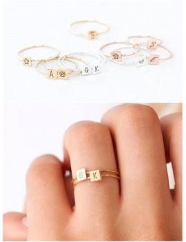 Minimal Letter Ring