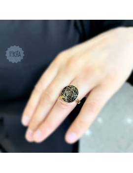 Seal of Solomon ring